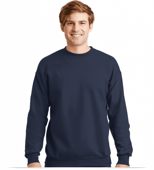 Custom Logo on Cottonpoly Embroidered sweatshirt