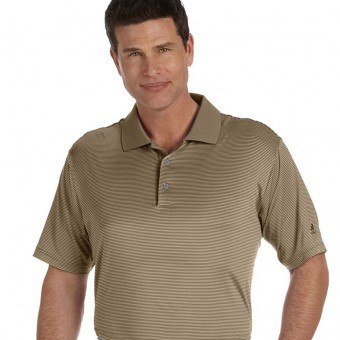 Custom Classic Stripe Short-Sleeve Polo
