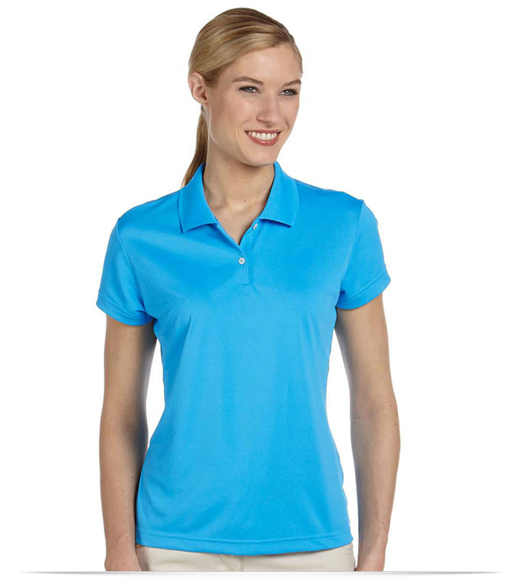 Customize Adidas Ladies Pique Polo