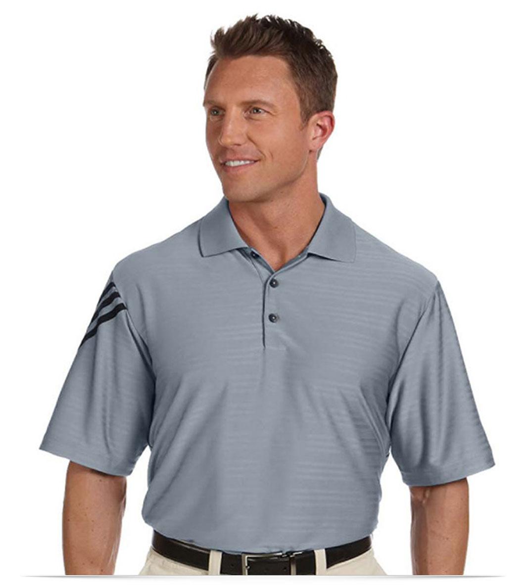 Customize Adidas Mesh Polo Shirt