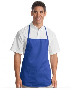 Custom Embroidered Bib Aprons