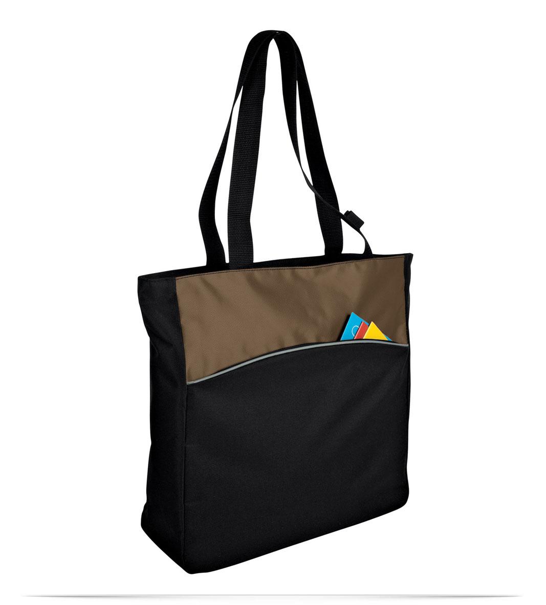 Customize Logo Two Tone Tote Bag