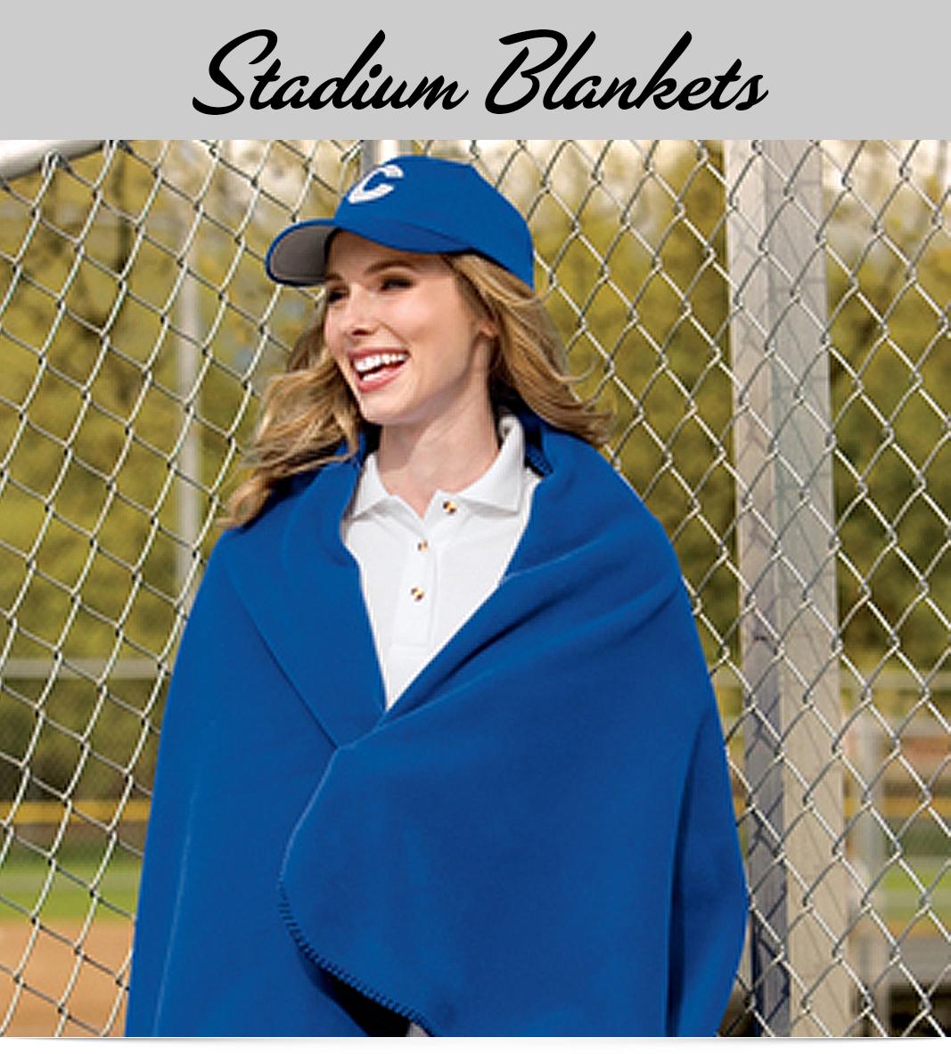 Custom Stadium Fleece Blankets