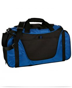 Personalized Two Tone Duffel Bag