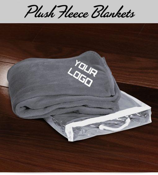 Custom Plush Fleece Blanket