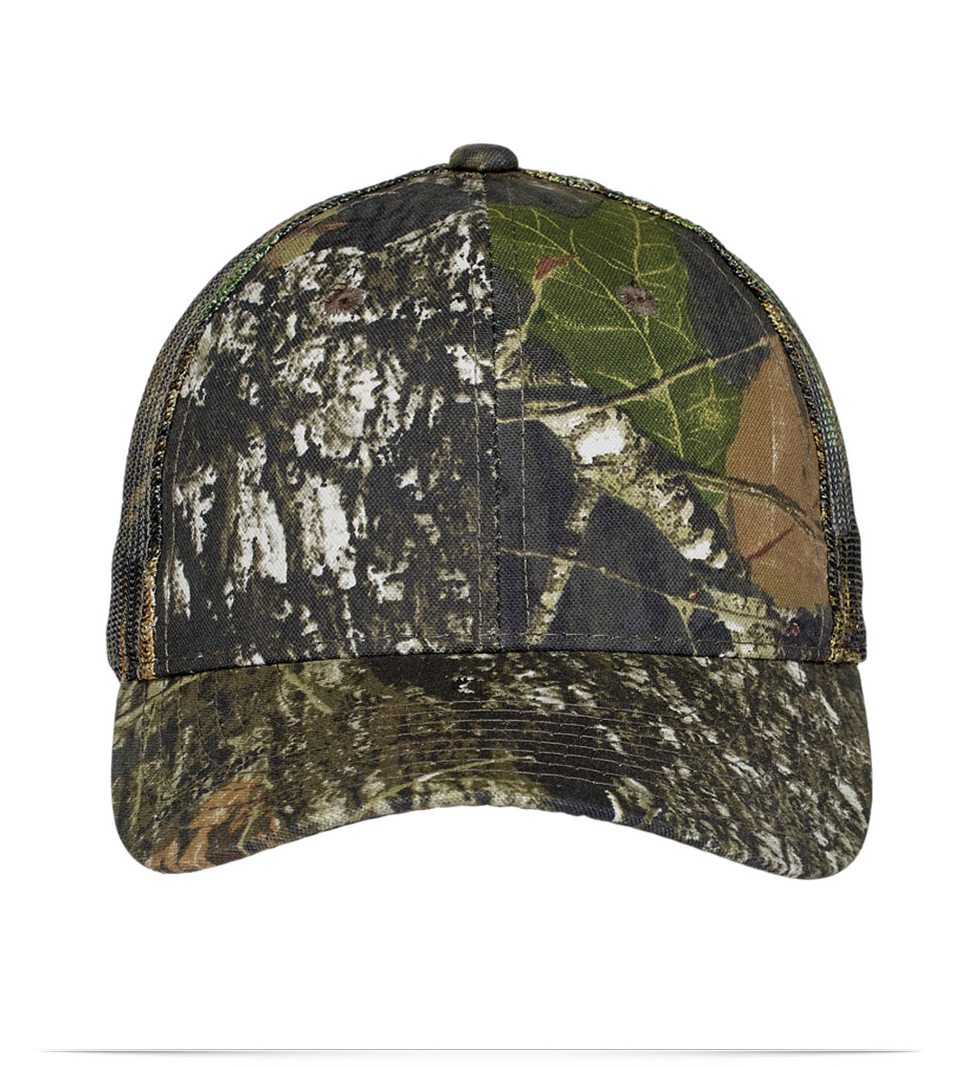 Custom Logo Camouflage Cap with Mesh Back