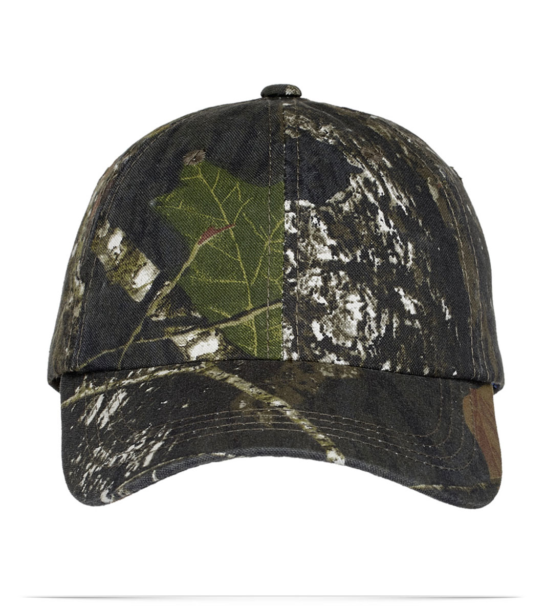 Embroidered Logo Camouflage Hat