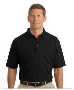 Embroidered Industrial Custom Polo Shirt with Pocket