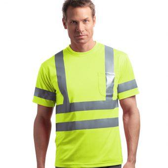 Customize Short Sleeve Reflective T-Shirt