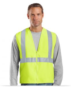 Embroidered Customized Logo Safety Vest