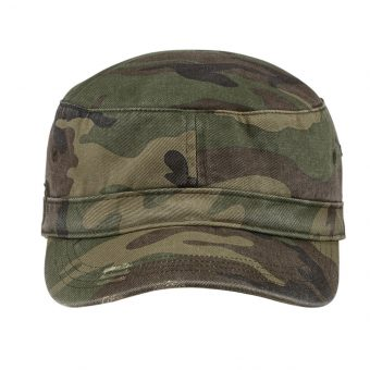 Customize Logo Distressed Military Hat
