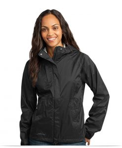 Embroidered Ladies Technical Rain Shell