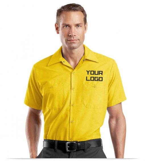 custom Red Kap Short Sleeve Work Shirt