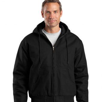 customized hooded work jacket
