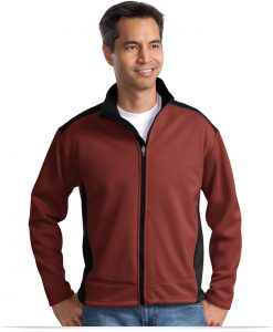 Custom Two-Tone Soft Shell Jacket