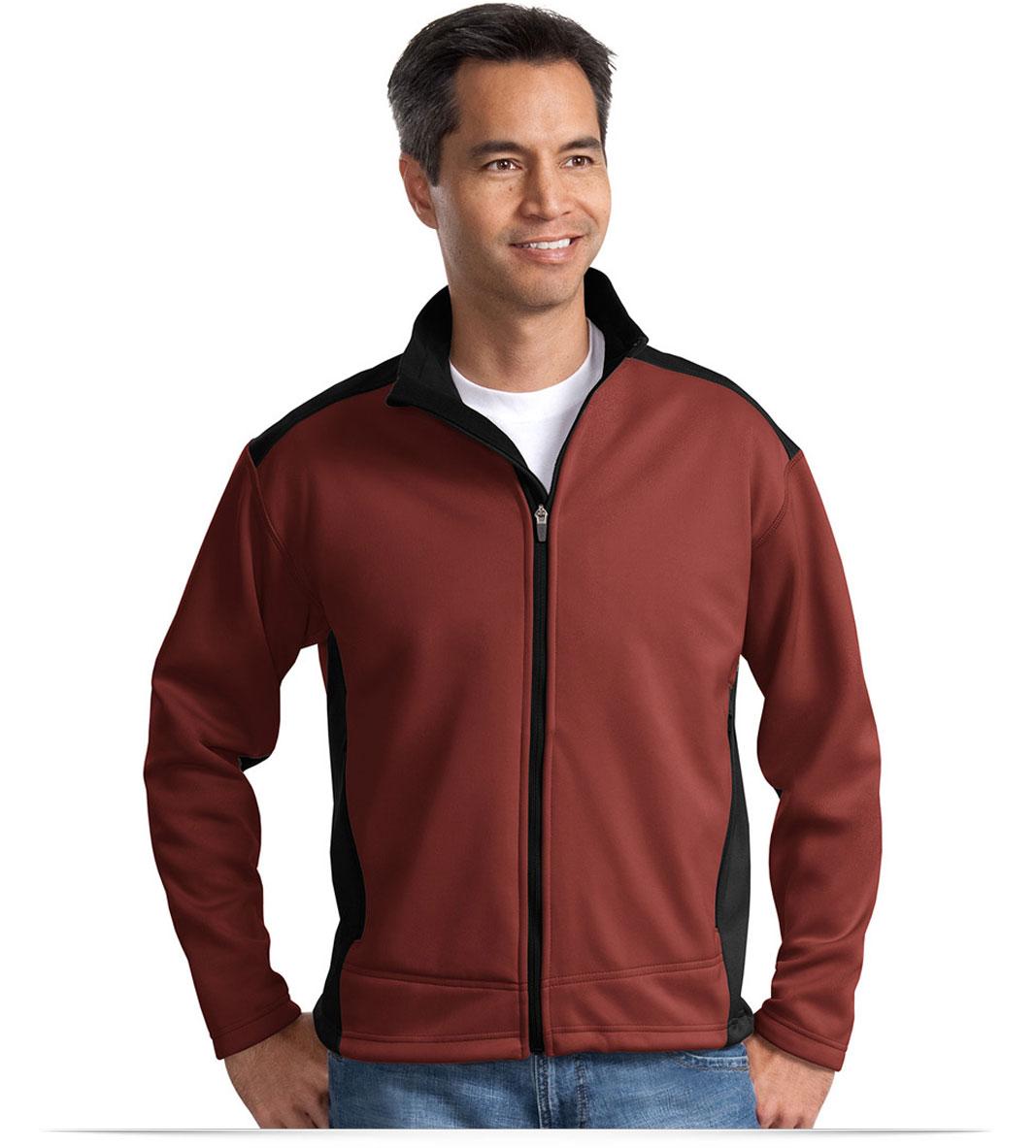 Custom Two-Tone Soft Shell Jacket