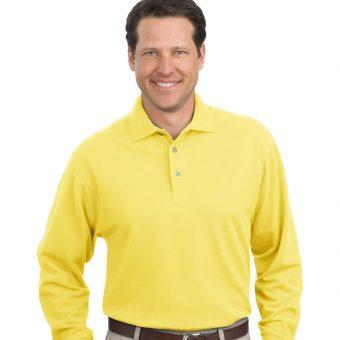 Custom Long Sleeve Polo