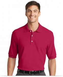 Custom Logo 100% Cotton Shirt For Golf