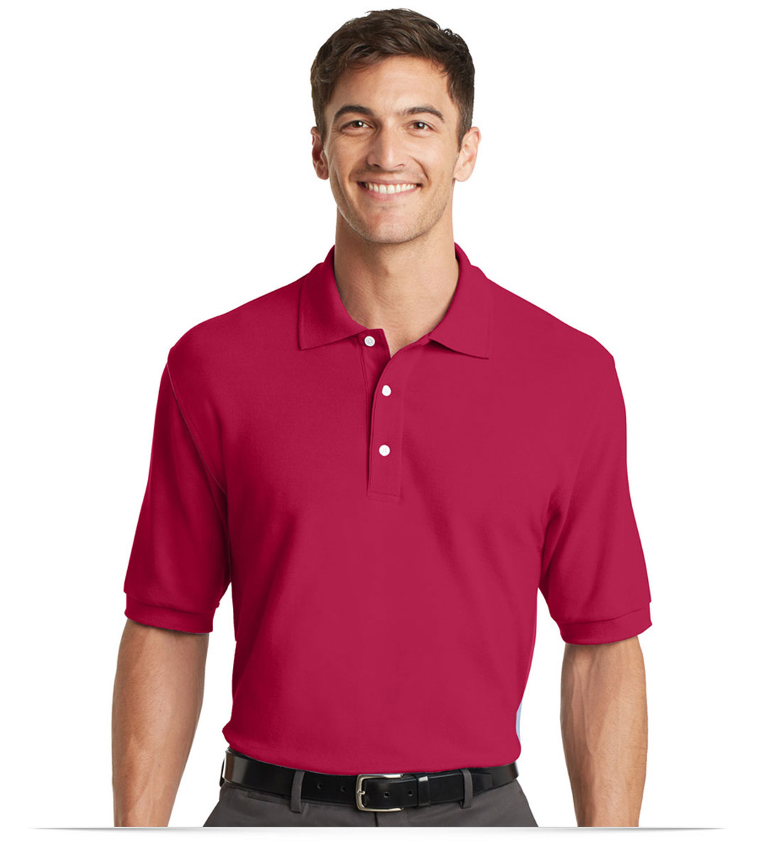Custom Logo 100% Cotton Shirt For Golf