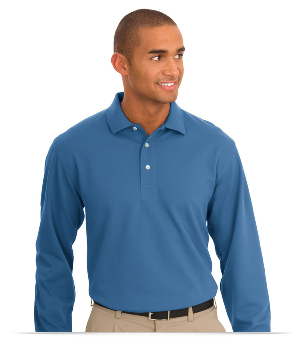 Design embroidered custom logo long sleeve sport shirt online for Embroidered work shirts no minimum order