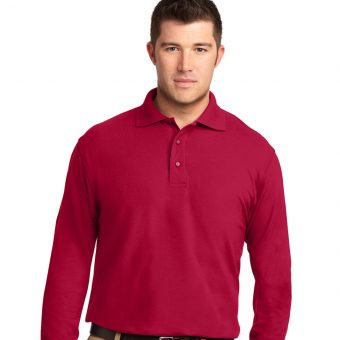 Custom Long Sleeve Polo Shirt