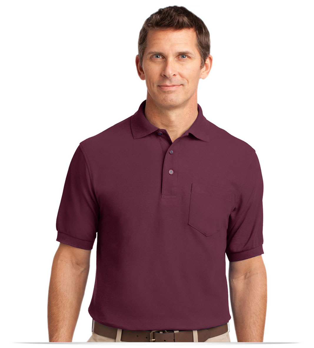 Custom Polo Shirt with Pocket