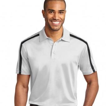 Personalized Dri-Fit Stripe Polo Shirt