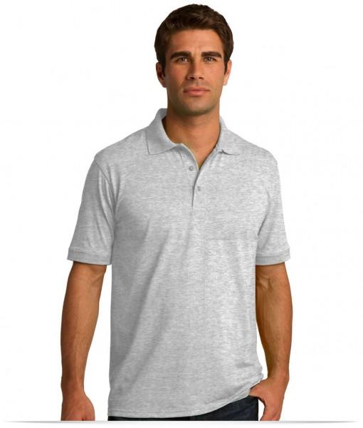 Custom Jersey Knit Polo Shirt