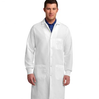 Embroidered Red Kap Specialized Cuffed Lab Coat