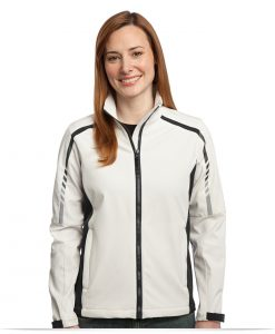 Embroidered Ladies Soft Shell Jacket