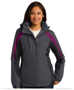 Embroidered Port Authority Ladies Colorblock 3-in-1 Jacket