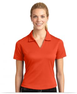 Customize Ladies Dri-Mesh V-Neck Sport Shirt