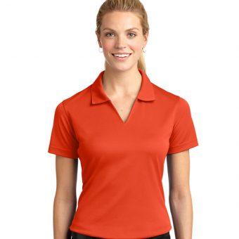 Customize Ladies Dri-Mesh V-Neck Sport Shirt