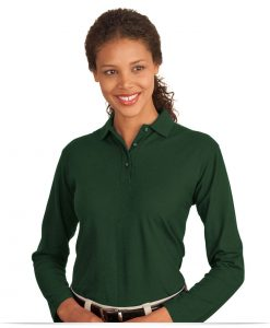 Custom Long Sleeve Polo Shirt Ladies