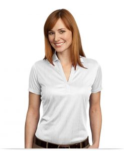 Customize Ladies Performance Jacquard Polo