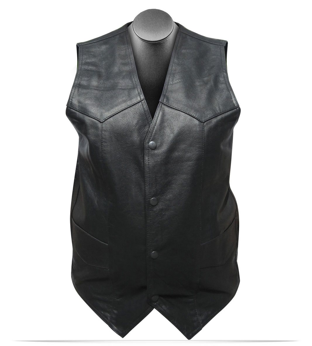 Customize Unisex Leather Vest