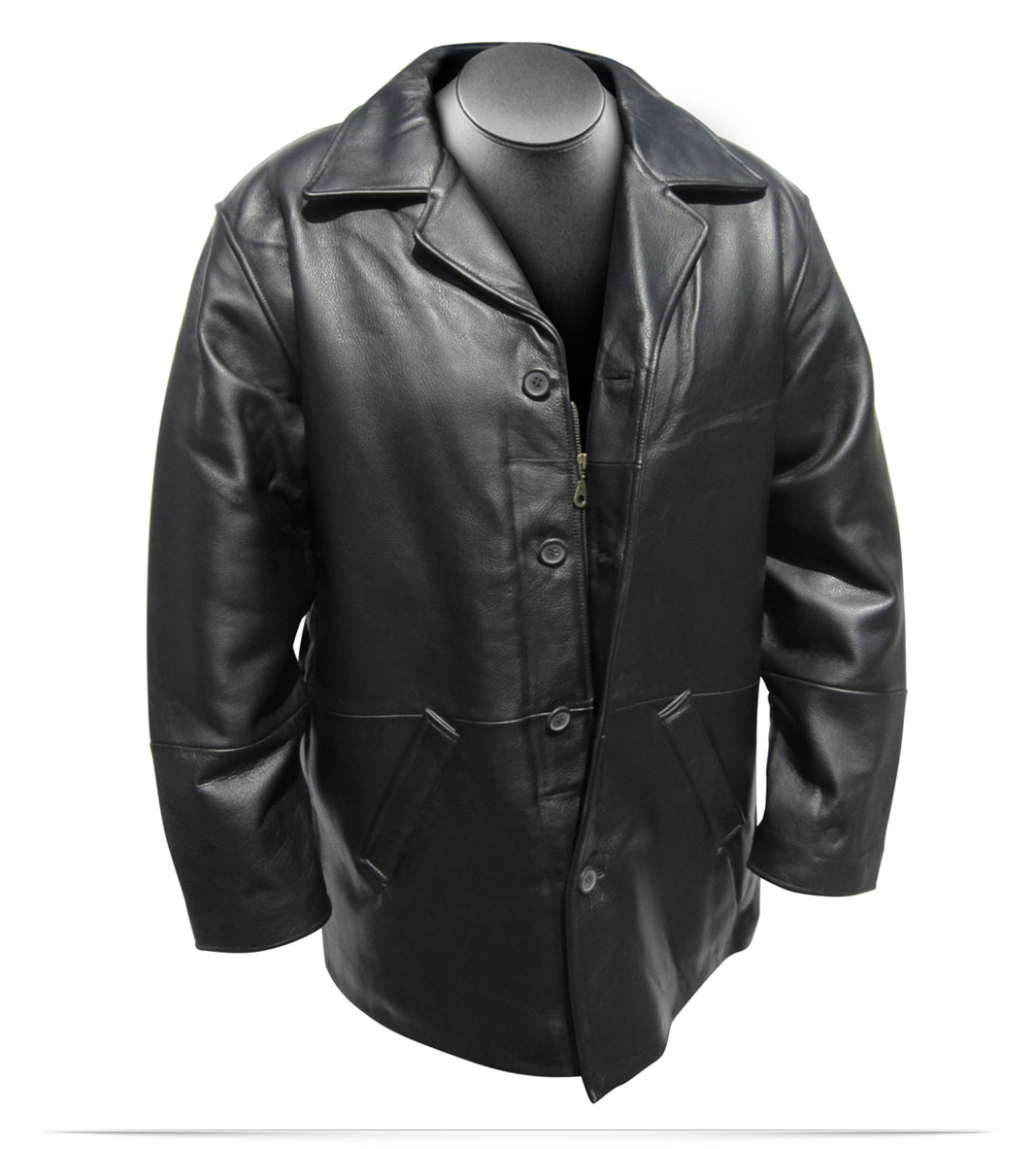 Customize Logo Optimum Leather Jacket