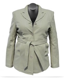 Customize Logo Women's Lambskin Blazer