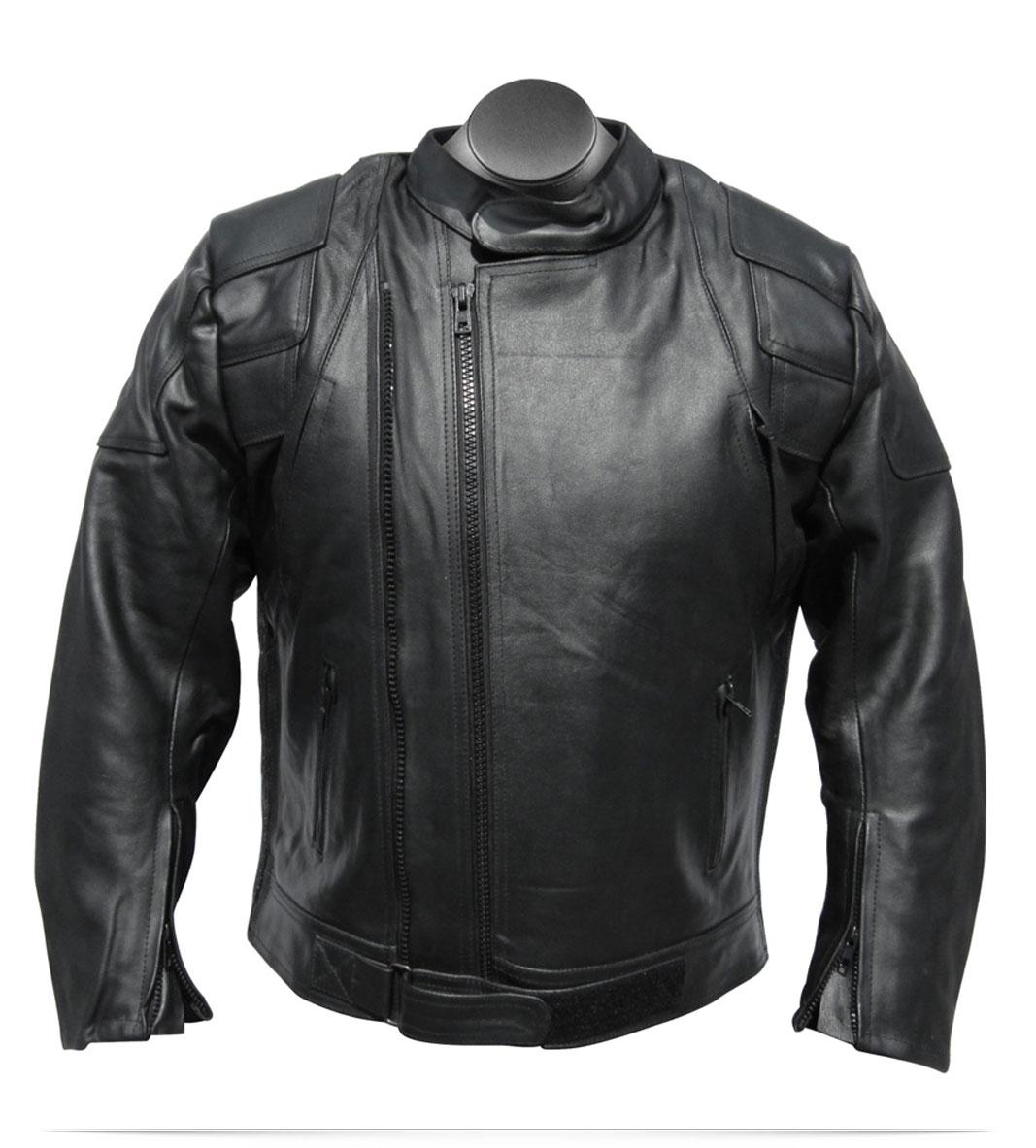 Custom Logo Men's Vigor Leather jacket