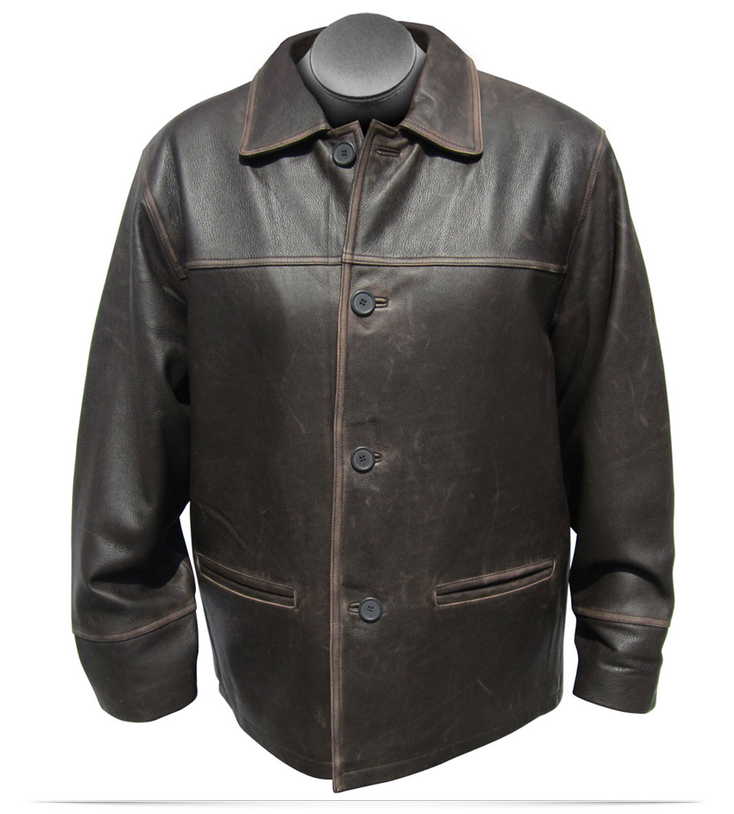 Customize Logo Dawson Leather Jacket