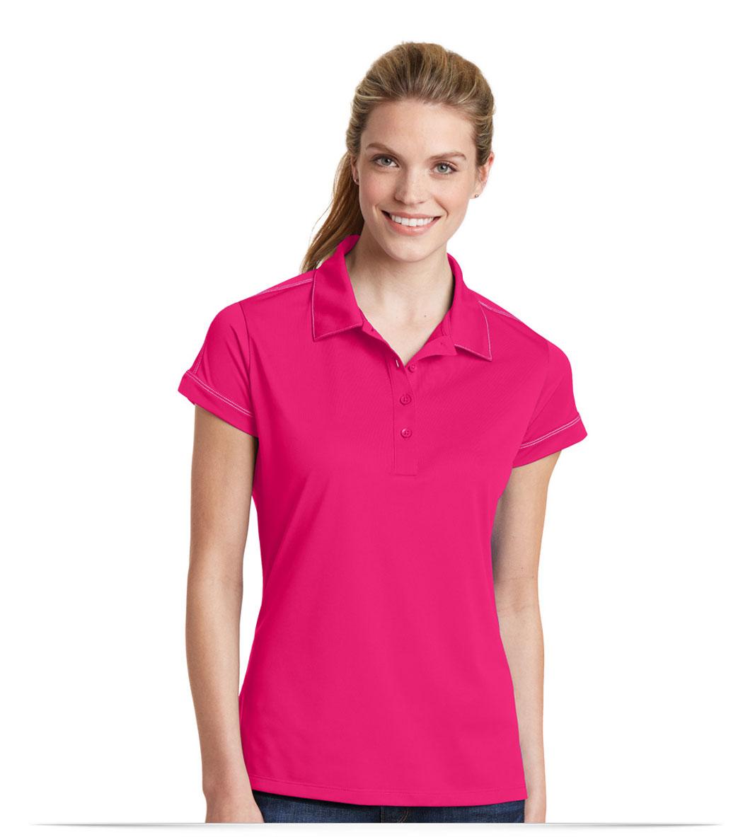 Customize Ladies Micropique Dri-Wick Polo
