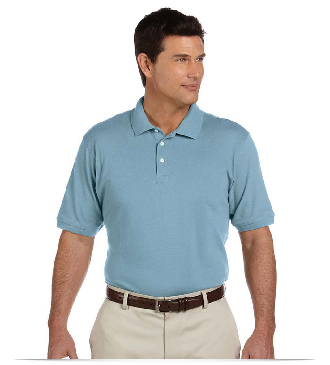 Design custom harriton 100 cotton business polo shirt online for Custom company polo shirts