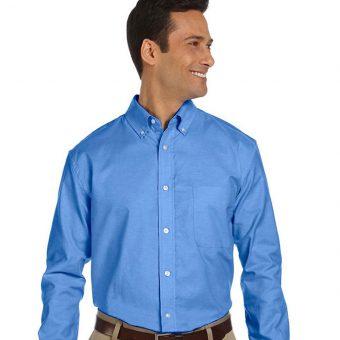 Custom Classic Long Sleeve Oxford Shirt