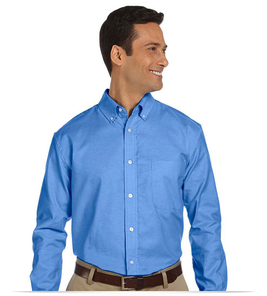 Custom Classic Long Sleeve Oxford Shirt