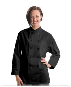 Custom Logo 10 Button 3/4 Sleeve Chef Jacket