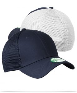 Customize New Era Youth Stretch Mesh Cap