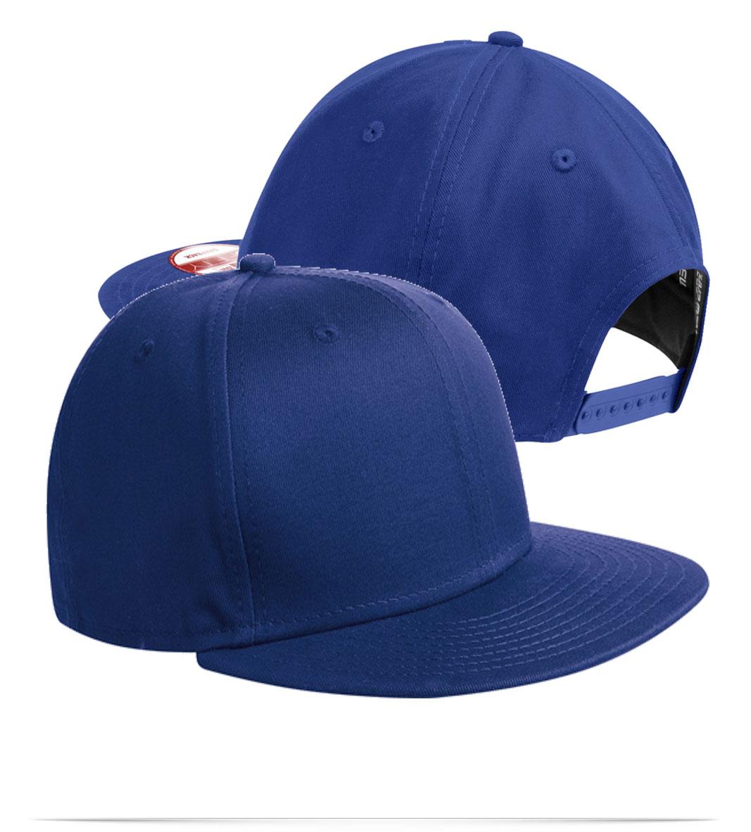 Customize New Era Flat Bill Snapback Cap