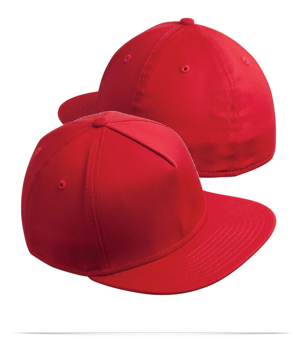 Personalized New Era Flat Bill Stretch Cap