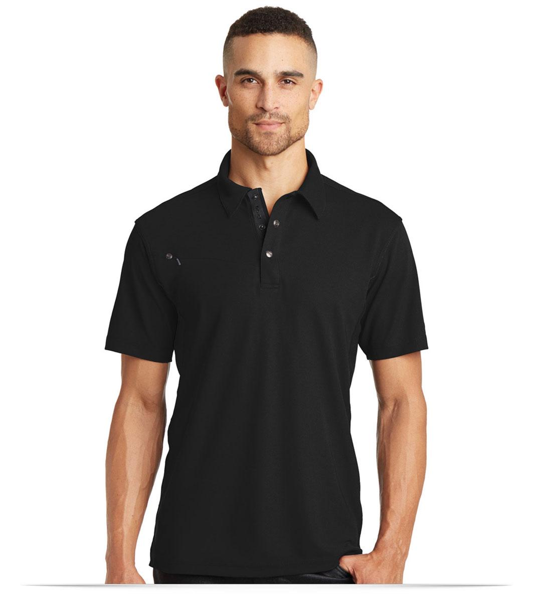 Design embroidered custom logo ogio polo shirt online for Name brand golf shirts