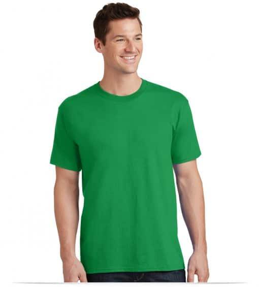 Custom Logo on 50/50 Cotton/Poly T-Shirt